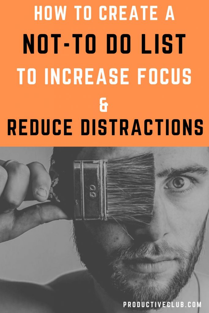 increase focus reduce distractions how to focus better