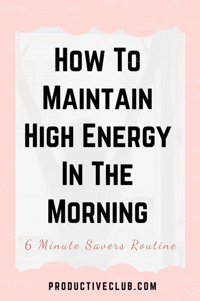 miracle morning routine tips