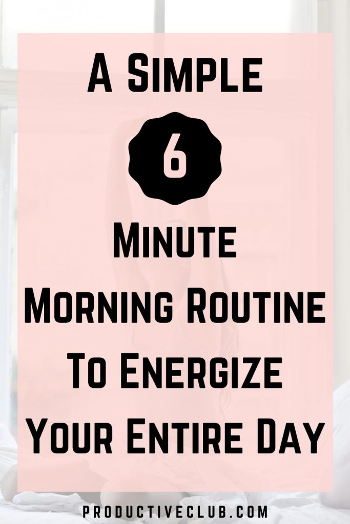 best morning routine habits