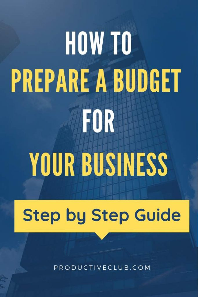 create budget ideas small business