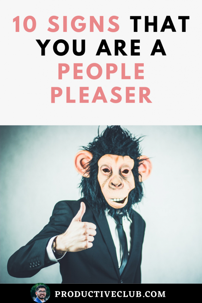 10 signs of a people pleaser