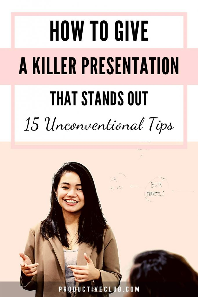 presentation skills career tips