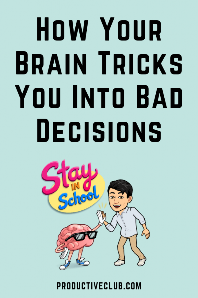 How the human brains tricks you into bad decisions