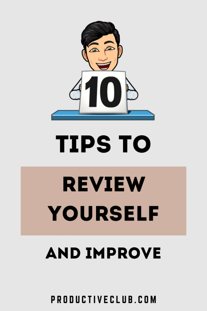 How to review yourself for self improvement