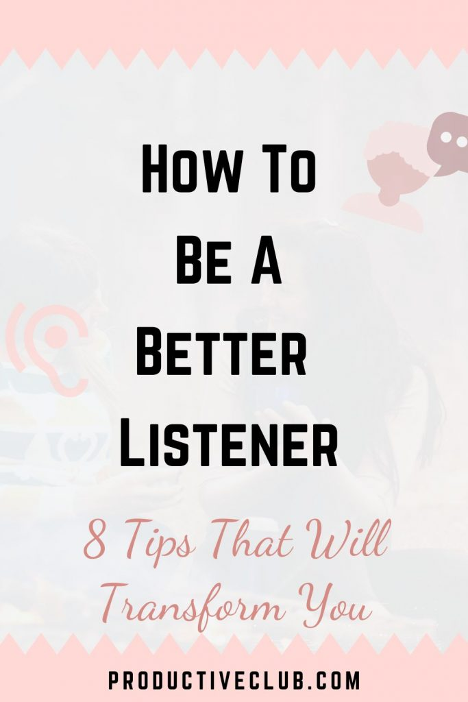 better listening skills personal growth