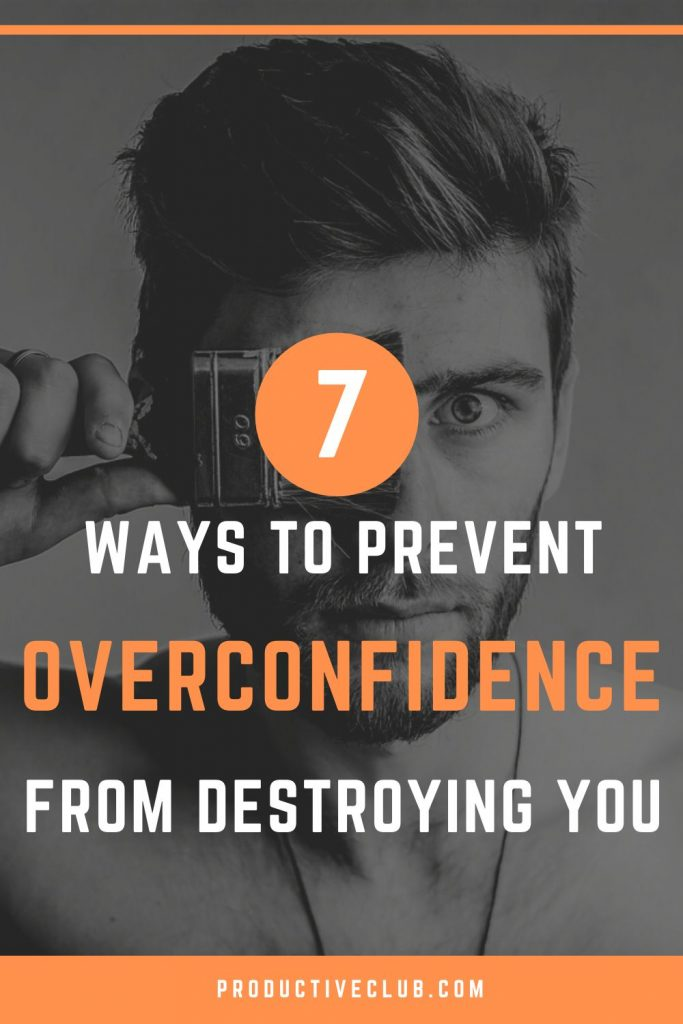 overconfidence self improvement personal development cognitive bias