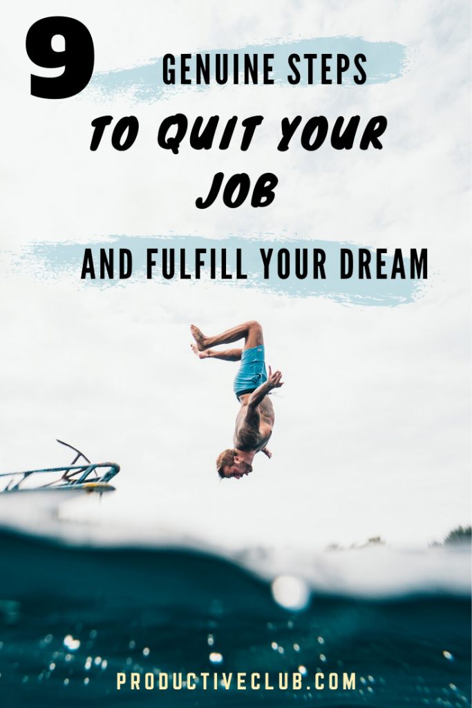 How to quit your job tips