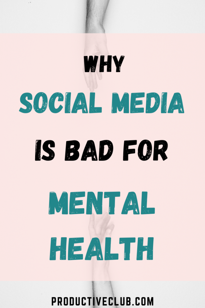 Social media disadvantages mental health awareness