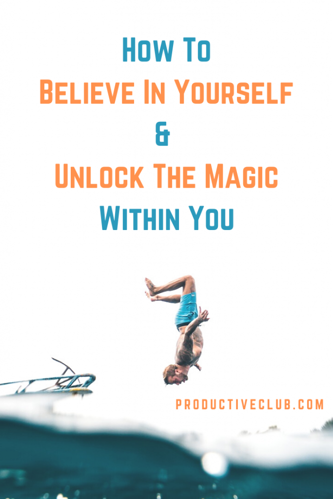 believe in yourself inspiration motivation positive thoughts