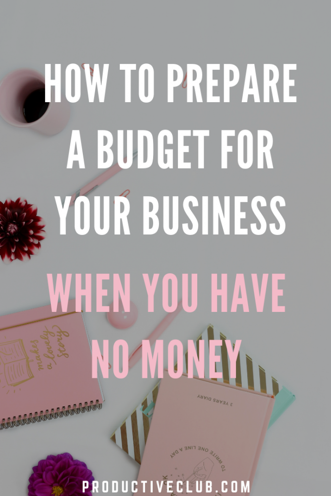 Budget Tips tricks business entrepreneur