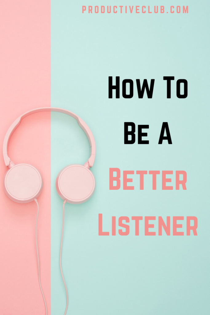 How to listen better tip relationships