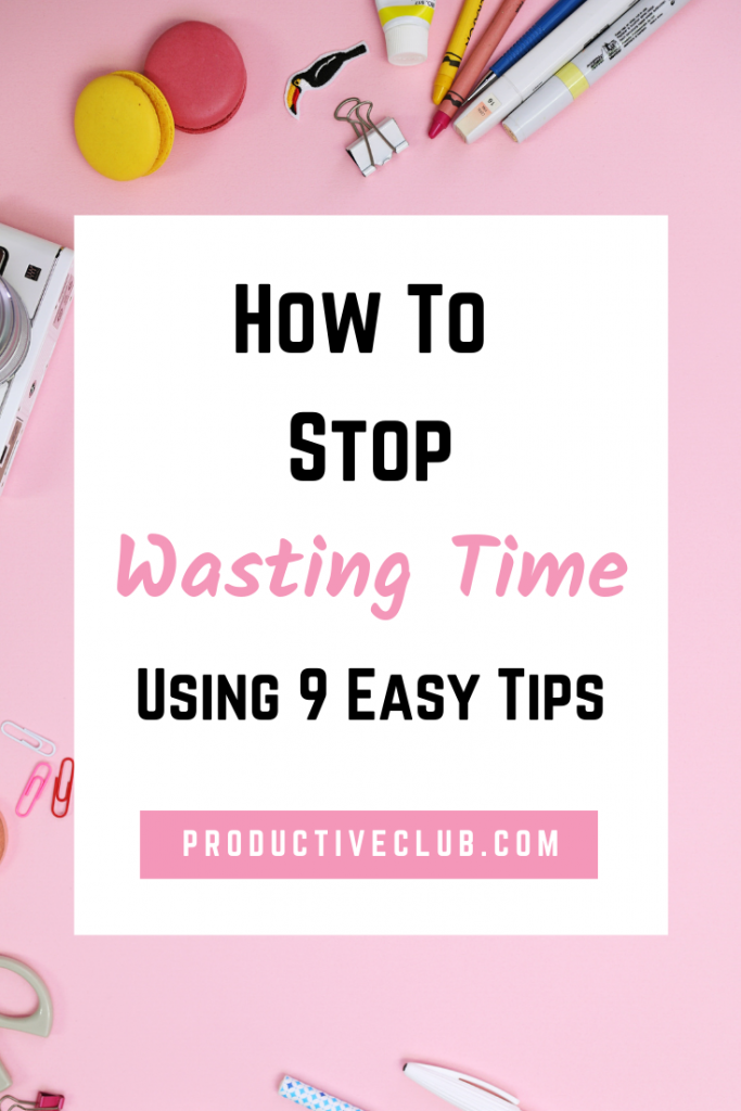 How to manage time tips