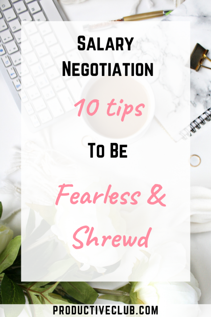 Salary negotiation tips new job