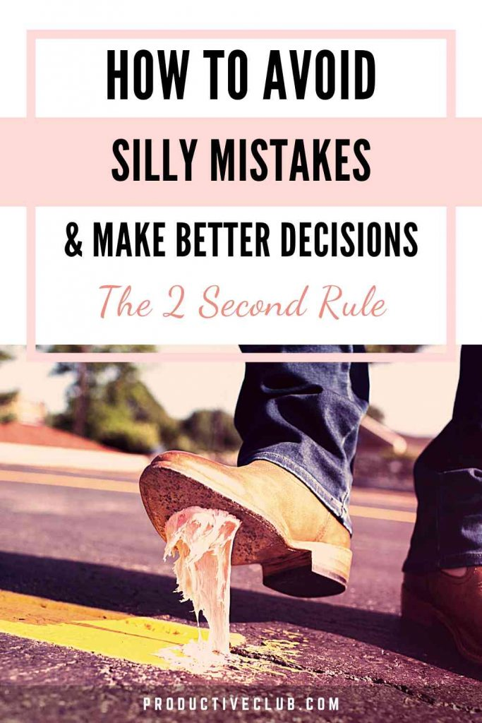 how to make decision personal development