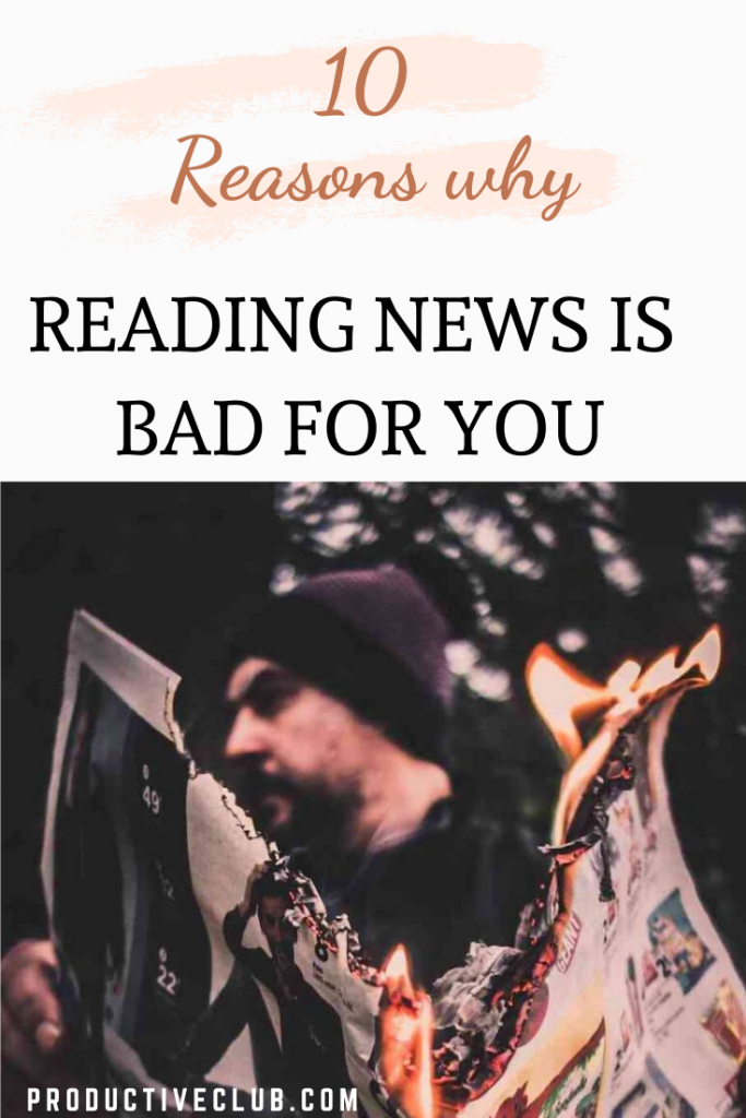 news is bad for you self improvement personal growth personal development