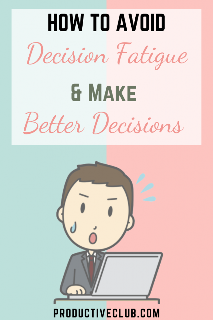 how to make tough decisions