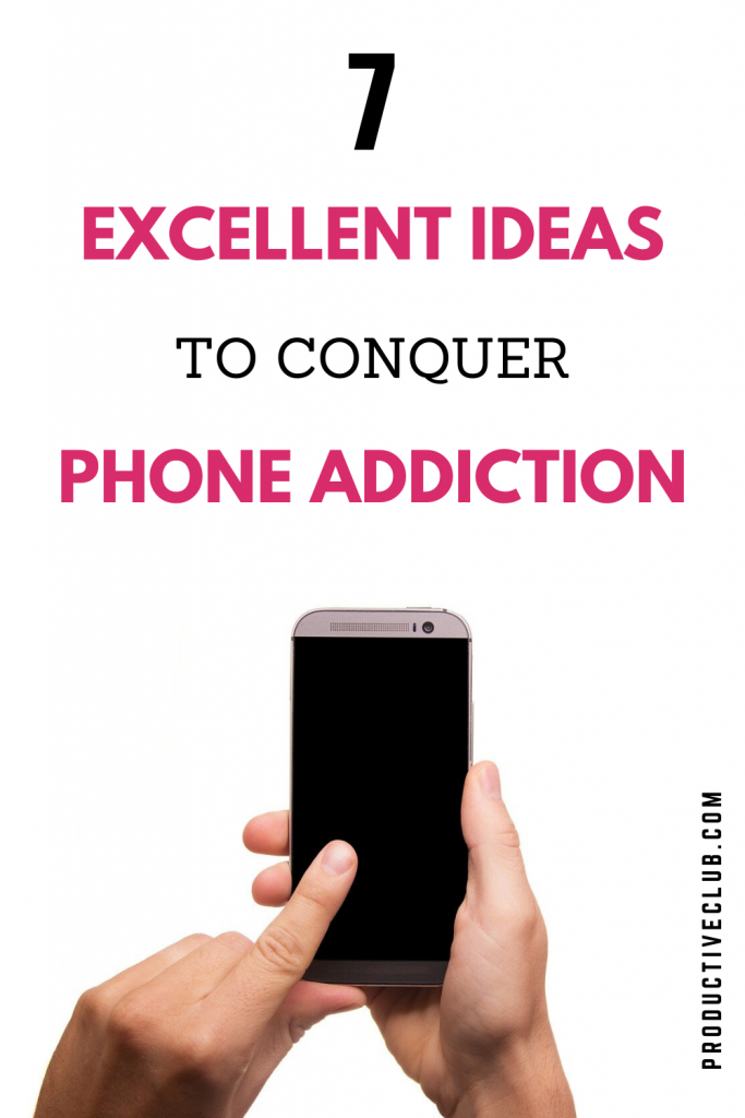 phone addiction time management tips