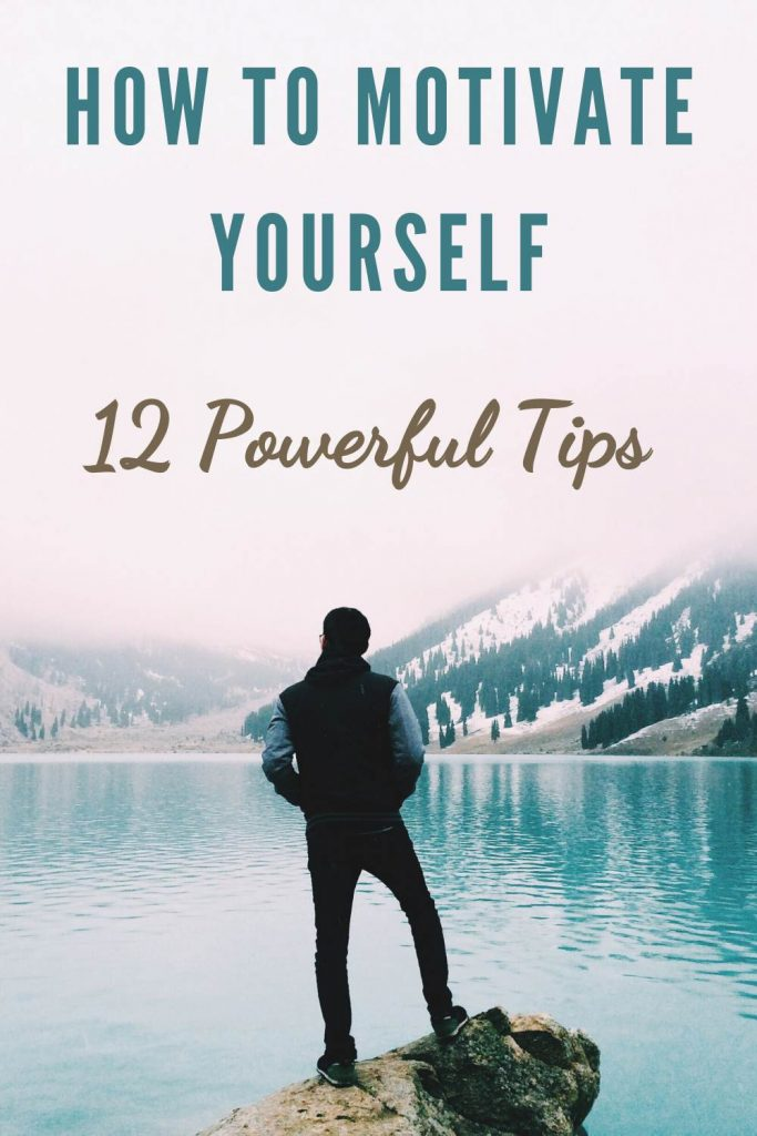Ways to motivate yourself - positive self motivation tips