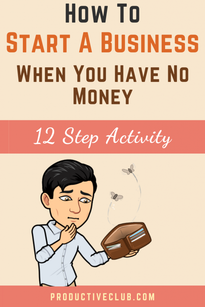 How to start a business with no money - small business tips