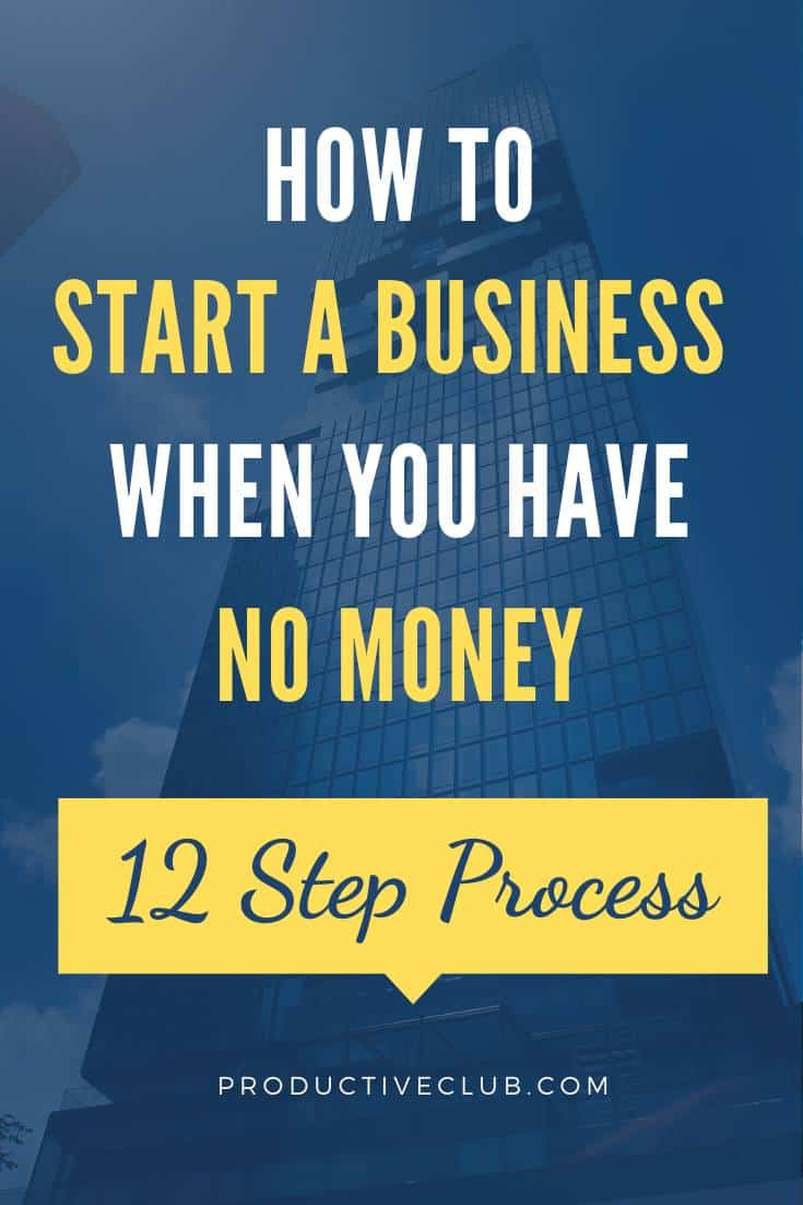 small business tips no money