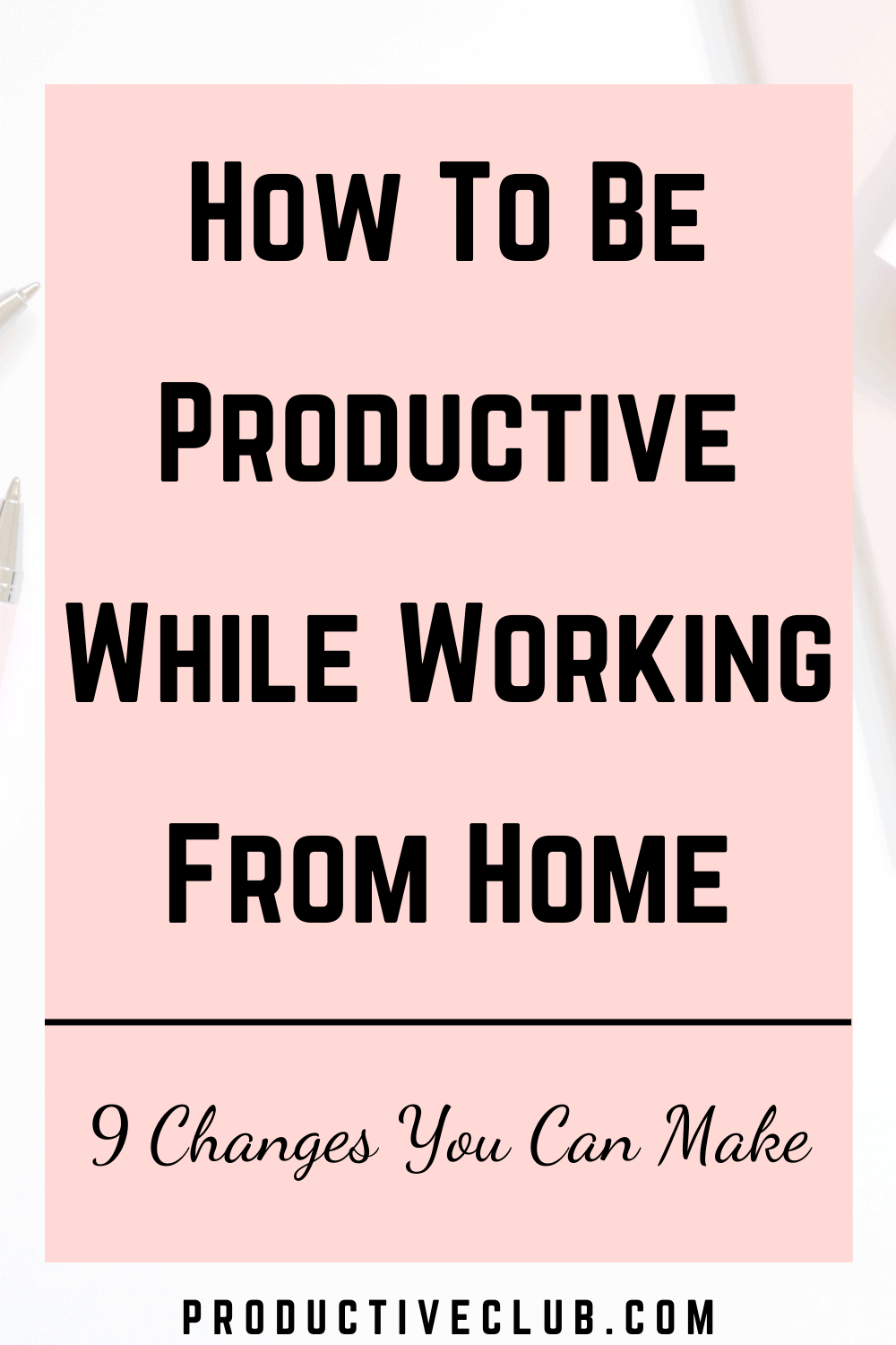 work be productive remote