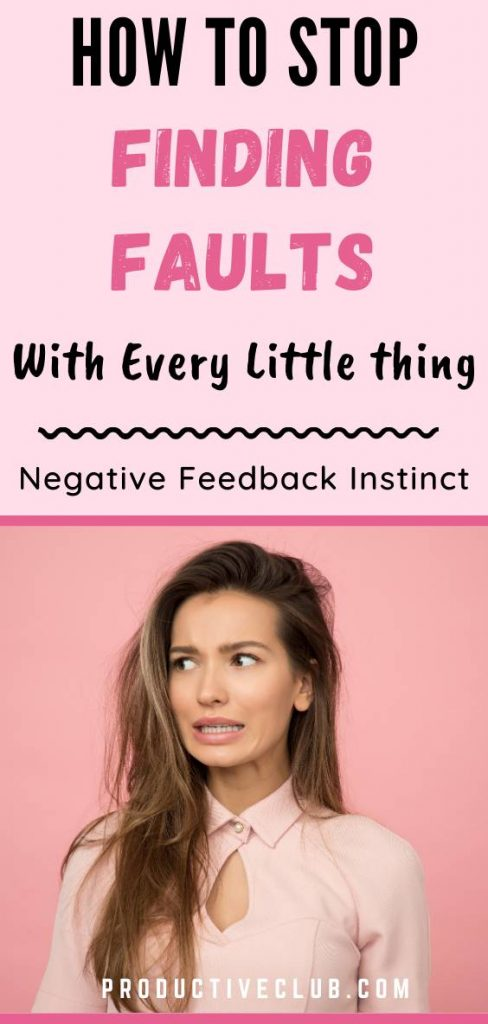 how to stop being negative emotions
