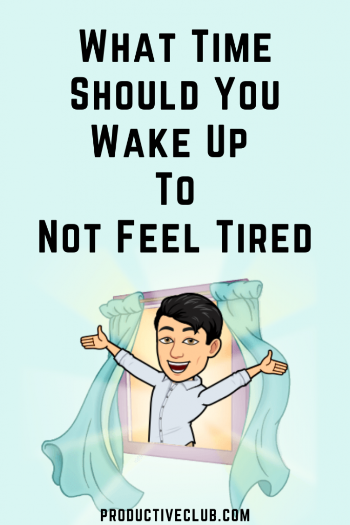 wake up tips best time to wake up