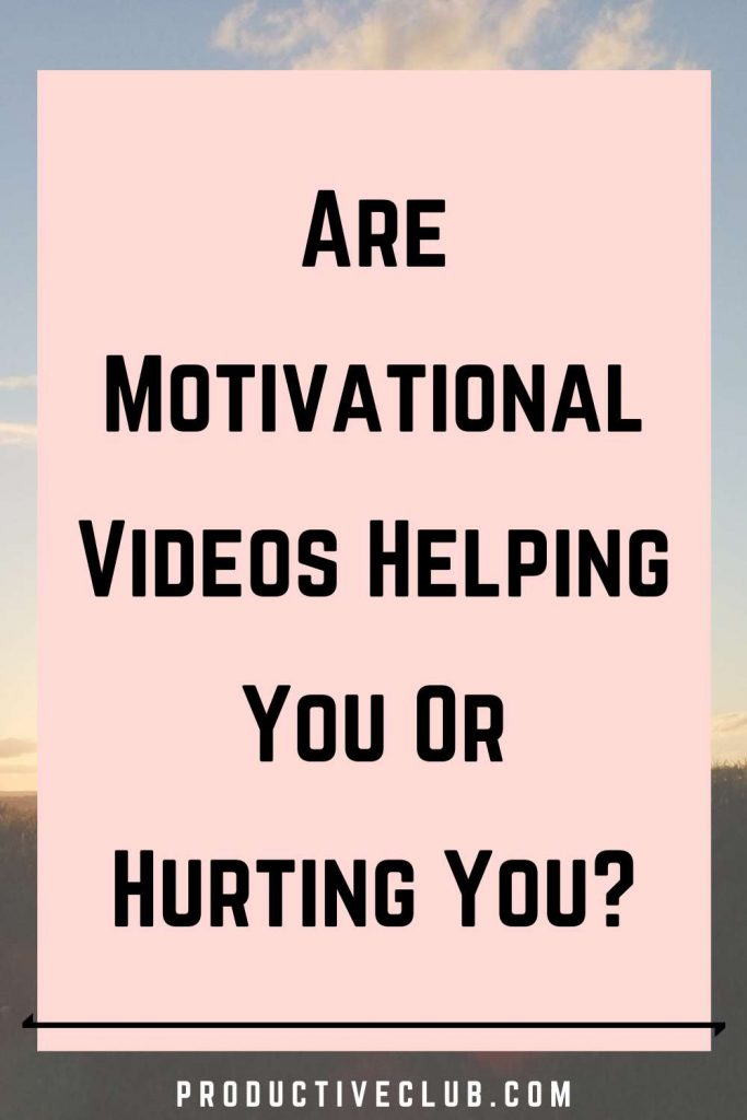 problems of motivational videos