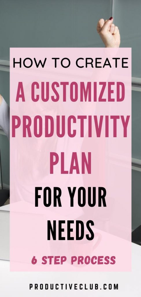 productivity tips planning