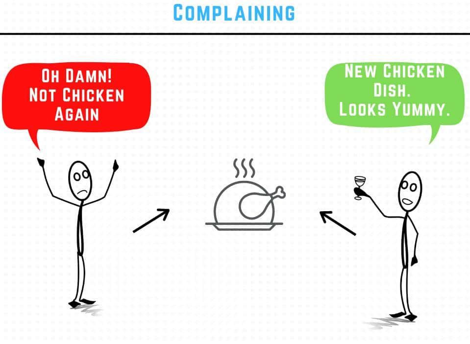 complaining and excuses