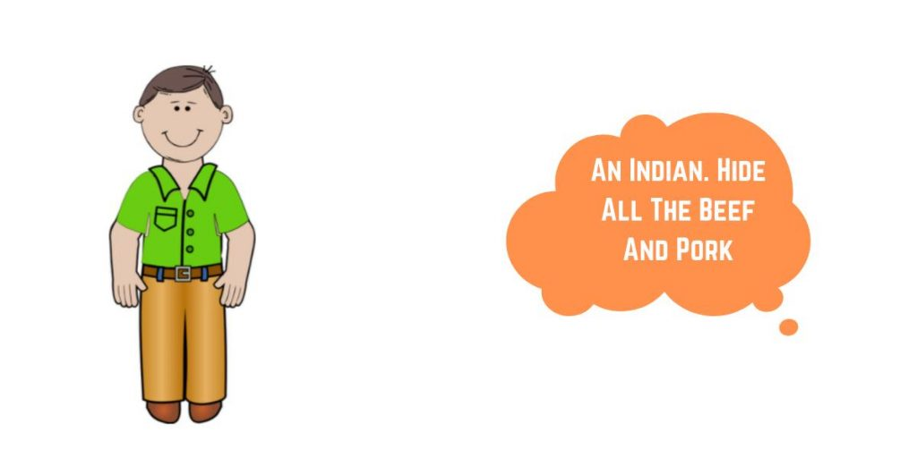 indians and meat